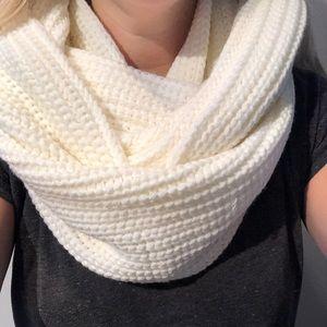 J. Crew Waffle Knit Infinity Scarf